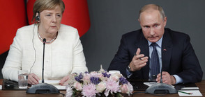 Путин и Меркел се обявиха за деескалация на напрежението в Черно море