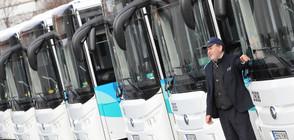 Пуснаха първите електробуси в София (СНИМКИ)