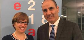 Цветанов проведе работна среща с изпълнителния директор на Европол