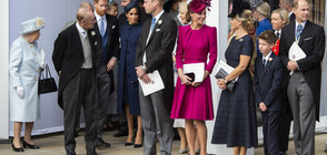 Британското кралско семейство представи коледните си картички (СНИМКИ)