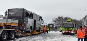 Тежка автобусна катастрофа край Цюрих (СНИМКИ)