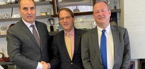 Цветанов се срещна със зам.-помощник държавния секретар и посланика на САЩ
