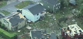 Торнадо нанесе големи щети в предградията на Сиатъл (ВИДЕО+СНИМКИ)