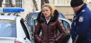 Иванчева пред дома си: Нямам угризения, свързани с работата ми (ВИДЕО+СНИМКИ)