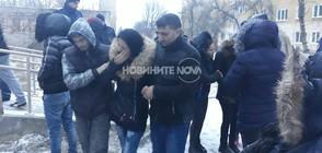 """Напрежение пред поликлиниката в """"Ботунец"""" след смъртта на дете"""