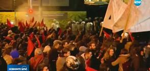 Безредици в Атина заради визитата на Ангела Меркел (ВИДЕО)