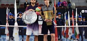 Гришо към Мъри: Тенисът свършва, приятелствата остават за цял живот (ВИДЕО+СНИМКИ)