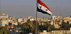 Мощната експлозия край Дамаск е взела жертви