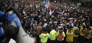 Хиляди демонстрираха в Париж срещу абортите и евтаназията (СНИМКИ)