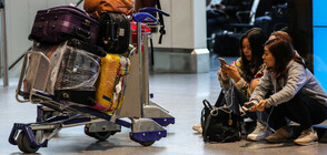 Жители на Франкфурт протестираха на местното летище