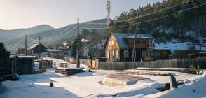 Две момиченца избягали от детска градина в Сибир при -45 градуса навън