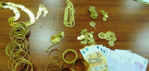 Контрабандни злато и валута задържаха на Калотина