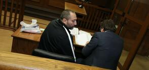 Митьо Очите кървял в съда, магистратите го оставиха в ареста (ВИДЕО+СНИМКИ)