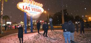 Сняг затрупа Лас Вегас (ВИДЕО)