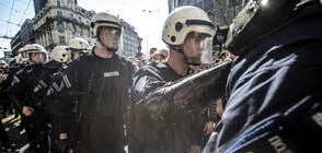 Приключи протестът в Белград (ВИДЕО+СНИМКИ)