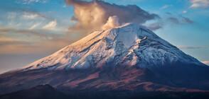 Най-голямото изригване на Попокатепетъл от години (СНИМКИ+ВИДЕО)