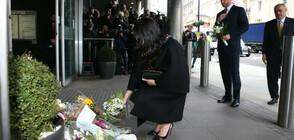 Принц Хари и Меган отдадоха почит на жертвите на атаката в Крайстчърч (СНИМКИ)