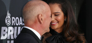 Брус Уилис и съпругата му се ожениха за втори път (ГАЛЕРИЯ)