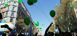 Хиляди испанци демонстрират в Мадрид против абортите (СНИМКИ)
