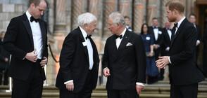 """Британските принцове и футболни звезди - на премиерата на """"Нашата планета"""" (СНИМКИ)"""