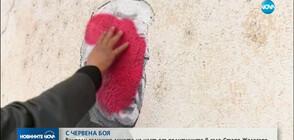 Вандали заличиха с боя част от изображенията на политици в Старо Железаре