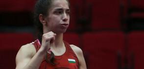 Миглена Селишка със сребърен медал от Европейското първенство по борба