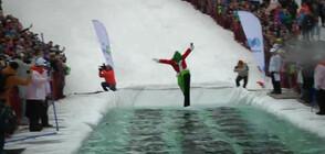 Ски по сняг или по вода? (ВИДЕО)