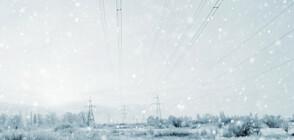 Учени получиха електричество от снеговалеж