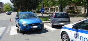 Двама души пострадаха при катастрофа в Благоевград (СНИМКИ)