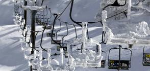 20 сантиметра сняг натрупа на Голанските възвишения