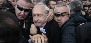 Нападнаха лидера на основната опозиционна партия в Турция