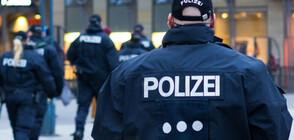 Полицаи в Германия преследваха коне с автобус
