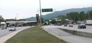 Сравнително спокоен е трафикът на границата с Гърция