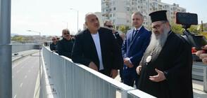 Борисов инспектира най-големия инфраструктурен проект във Варна (ВИДЕО)