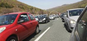 НАТОВАРЕН ТРАФИК: Опашки по магистралите и граничните пунктове (ВИДЕО+СНИМКИ)