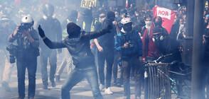 Сблъсъци и стотици арестувани в Париж на 1 май (ВИДЕО+СНИМКИ)