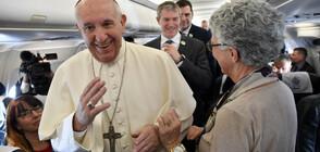 Папа Франциск в социалните мрежи (ВИДЕО)