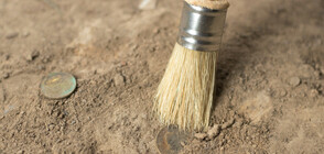 Откриха рядка римска монета при реновацията на британска магистрала