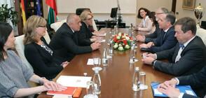 Борисов се срещна с министъра на външните работи на Германия Хайко Маас