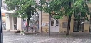 Градушка падна в Бургаско (ВИДЕО)