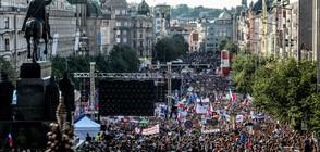 Многохиляден протест в Прага срещу министърката на правосъдието