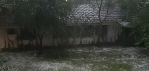Улици под вода след бурята във Варна (ВИДЕО)