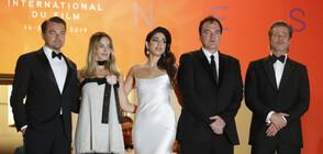 Тарантино се завръща в Кан с Брад Пит, Леонардо ди Каприо и Марго Роби (ВИДЕО+СНИМКИ)