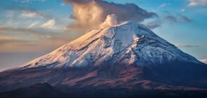 Вулканът Попокатепетъл в Мексико изхвърли стълб от пепел на 3,5 км (СНИМКА)
