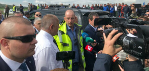 """Премиерът откри и новата отсечка от АМ """"Струма"""" (ВИДЕО+СНИМКИ)"""