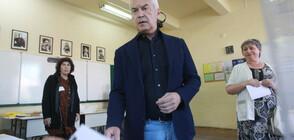 И Волен Сидеров гласува