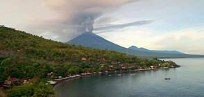Вулканът Агунг на остров Бали изхвърли 3-километров стълб пепел и лава (ВИДЕО+СНИМКИ)