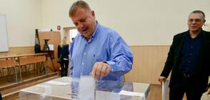 Красимир Каракачанов: Доволен съм от резултата на евровота