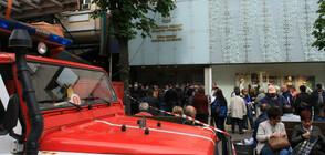 Членове на комисии чакаха с часове за предаване на протоколи (ВИДЕО)
