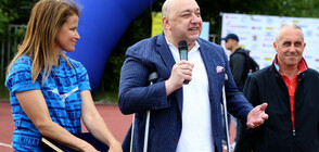 """Министър Кралев даде старт на 10-ото юбилейно издание на турнира """"Тереза Маринова и приятели"""""""
